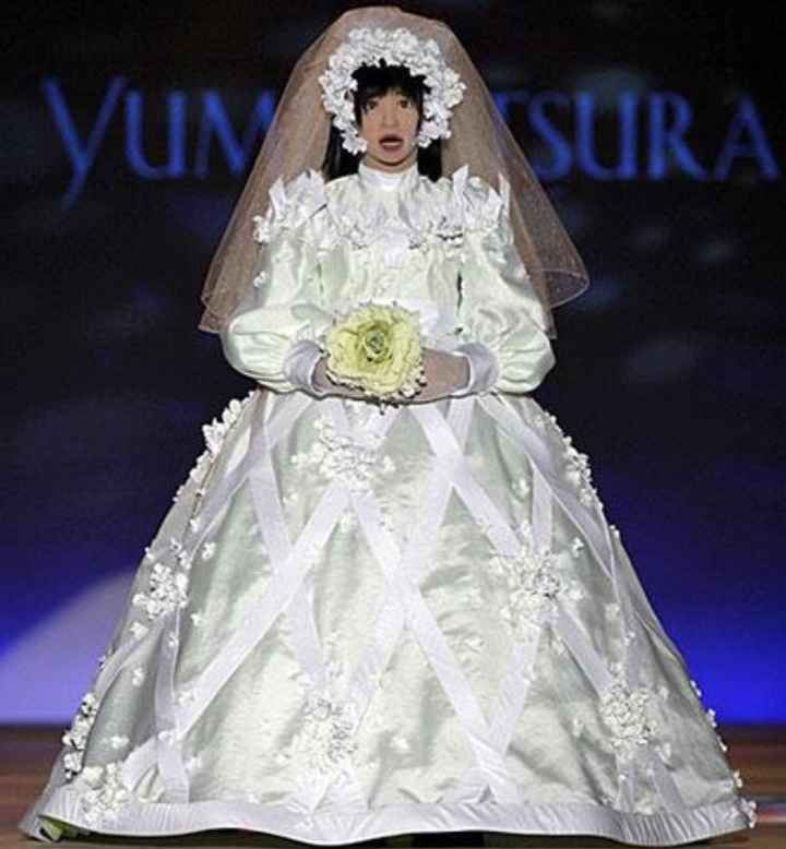 Vestidos de noiva estranhos - 17