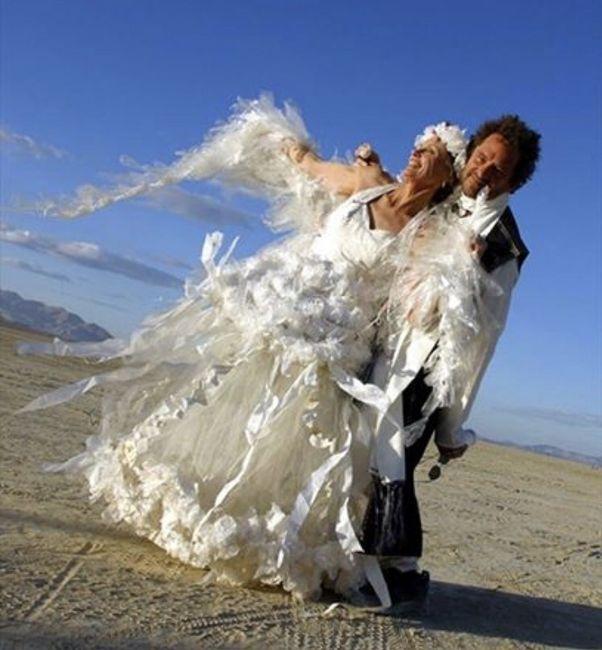 Vestidos de noiva estranhos - 1