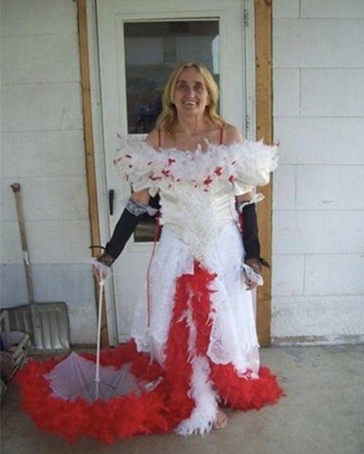 Vestidos de noiva estranhos - 6