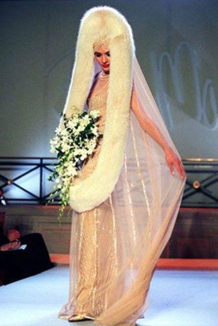Vestidos de noiva estranhos - 7