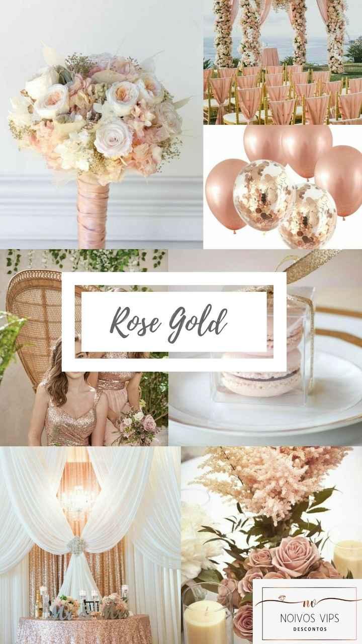 Decoração Rose Gold - 1
