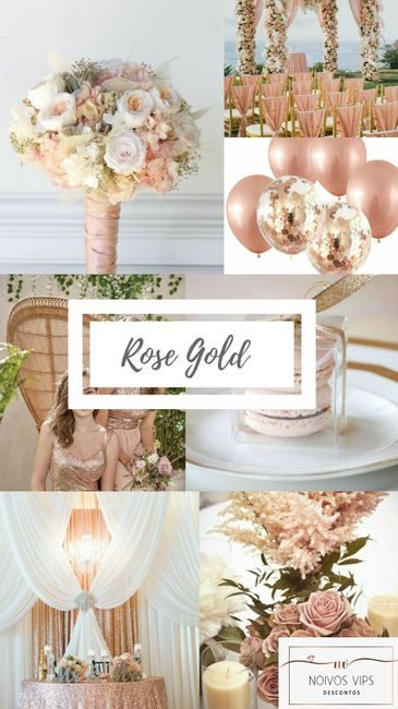 Decoração Rose Gold 6
