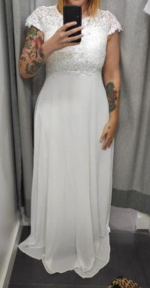 Vestido de noiva baratinho 2