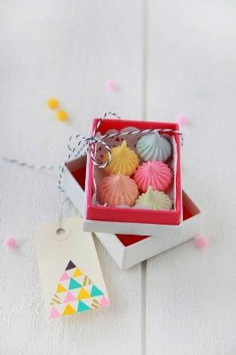 Mini-merengues Coloridos
