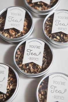 Caixinhas de chá