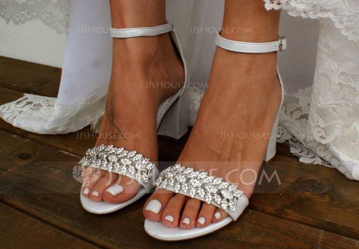 Sandálias para o grande dia ! 1