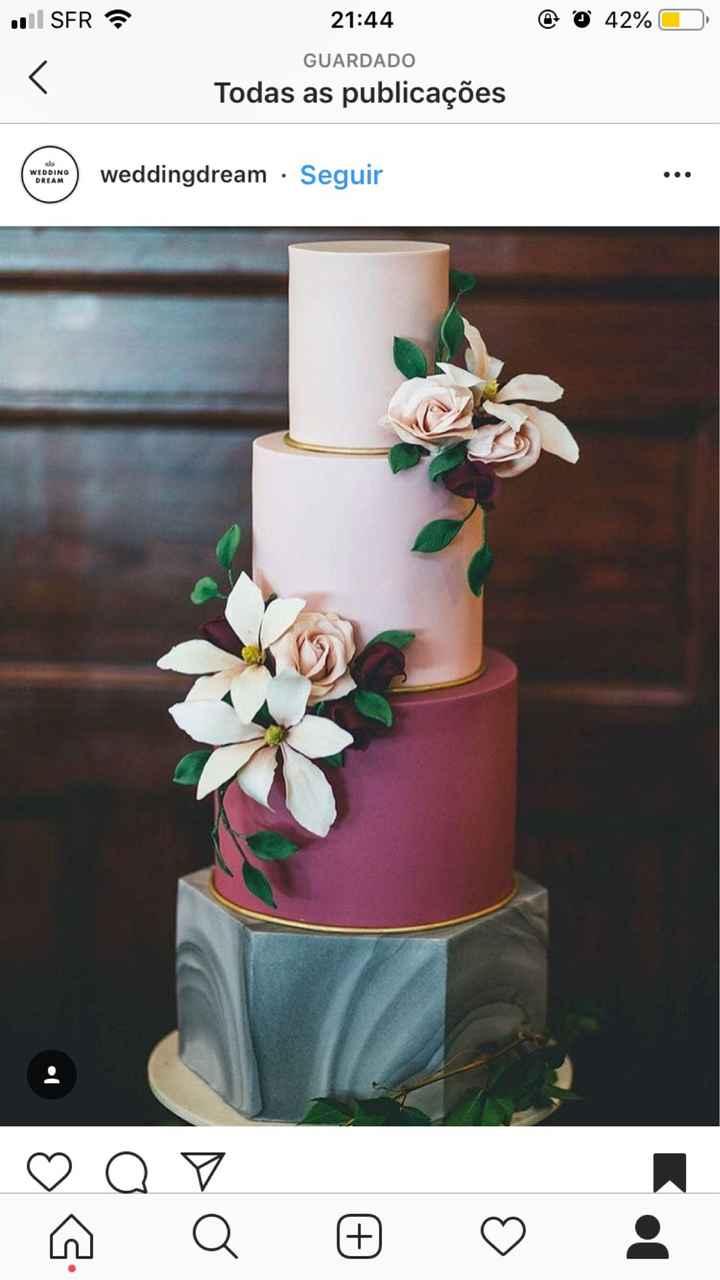 Branco ou colorido: o bolo! - 1