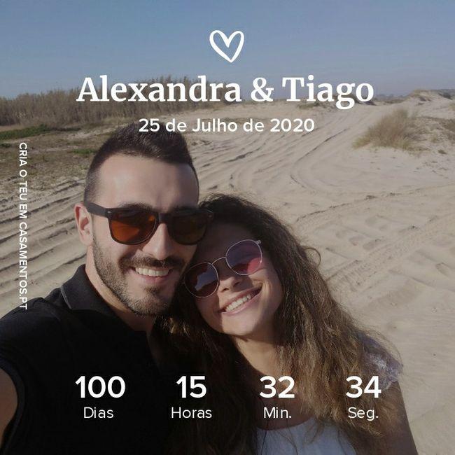 Chegamos aos 100 dias 😍 1
