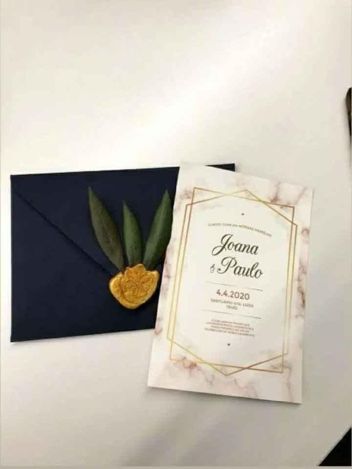 Convites casamento - 1