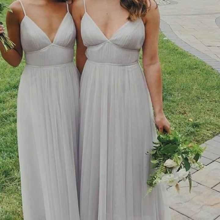 o Arco-íris 🌈 invade a comunidade com inspirações (cinzento) para vestidos de damas de honor 🤍 - 2