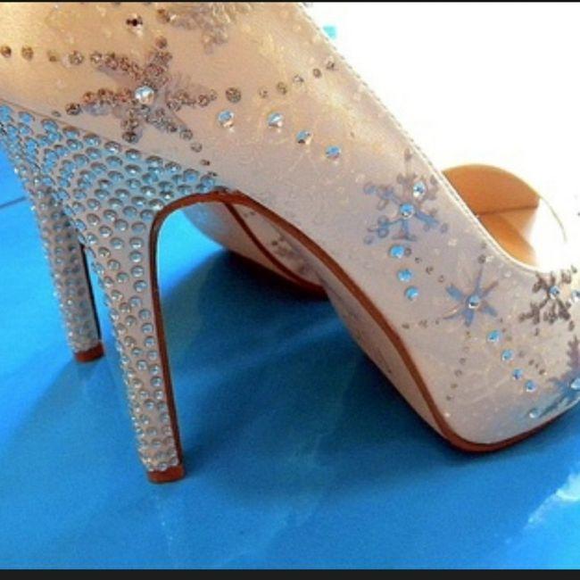 Casamentos de inverno - sapatos da noiva 2
