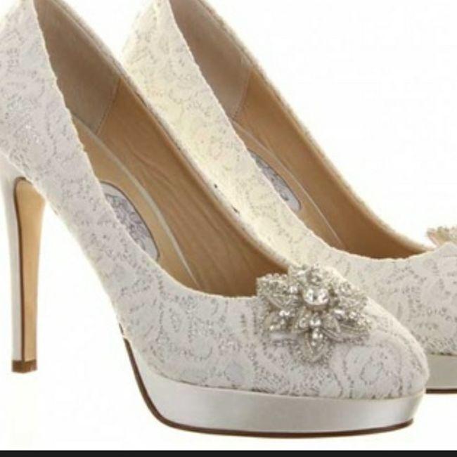 Casamentos de inverno - sapatos da noiva 3