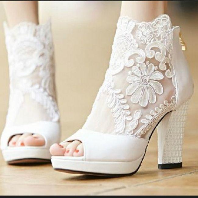 Casamentos de inverno - sapatos da noiva 5