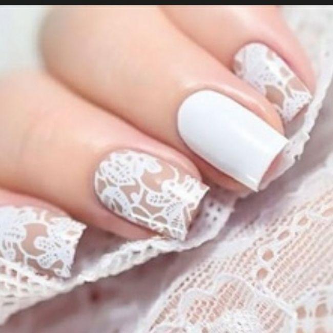 Casamentos de Inverno - unhas 5