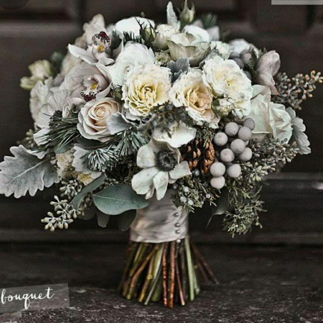 o arco-íris 🌈 invade a comunidade com inspirações (cinzento) para bouquets e boutonnieres - 2