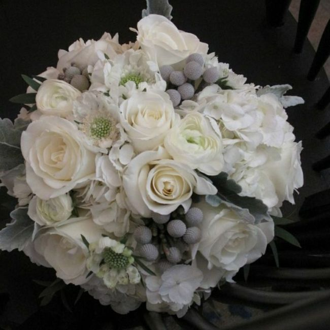 o arco-íris 🌈 invade a comunidade com inspirações (cinzento) para bouquets e boutonnieres - 3