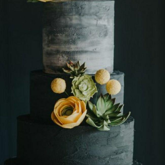 o arco-íris 🌈 invade a comunidade com inspirações (cinzento) para bolos 🧈🍰 - 13