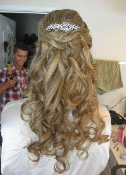 Travessão ou tiara (cabelo da noiva) - 1