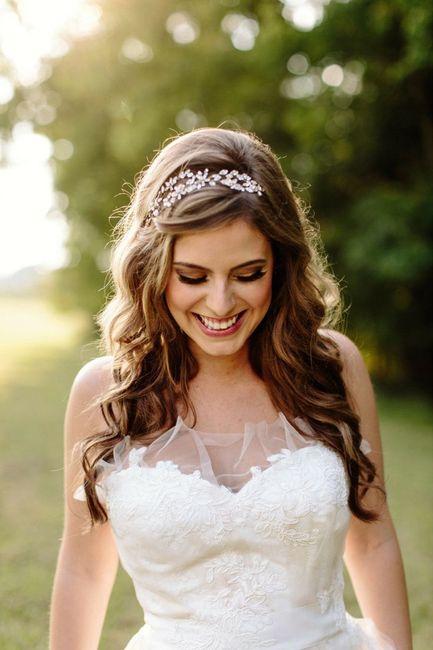 Travessão ou tiara (cabelo da noiva) - 2