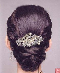 Travessão ou tiara (cabelo da noiva) - 3