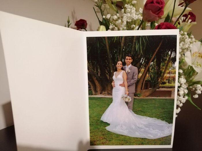 Foto-lembrança dos noivos como lembrança para os convidados 1