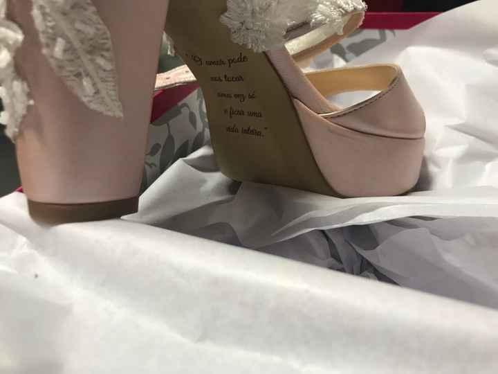 Sapatos de Noiva 😍 - 2