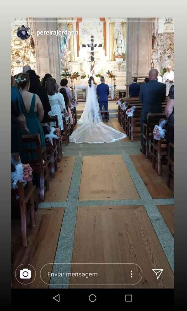 25 de Maio de 2019, a Sandra e o Nilton casaram! ❤️ - 9