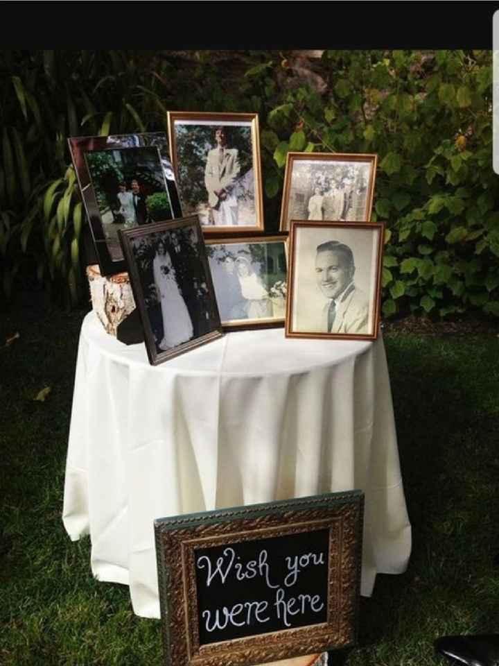 Inspirações Pinterest - Memorial aos que já partiram - 10