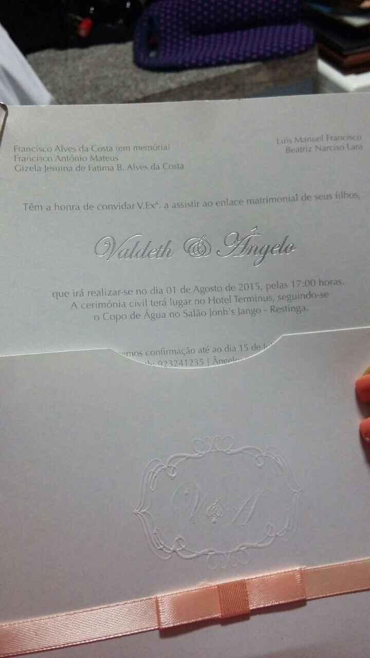 Meu convite