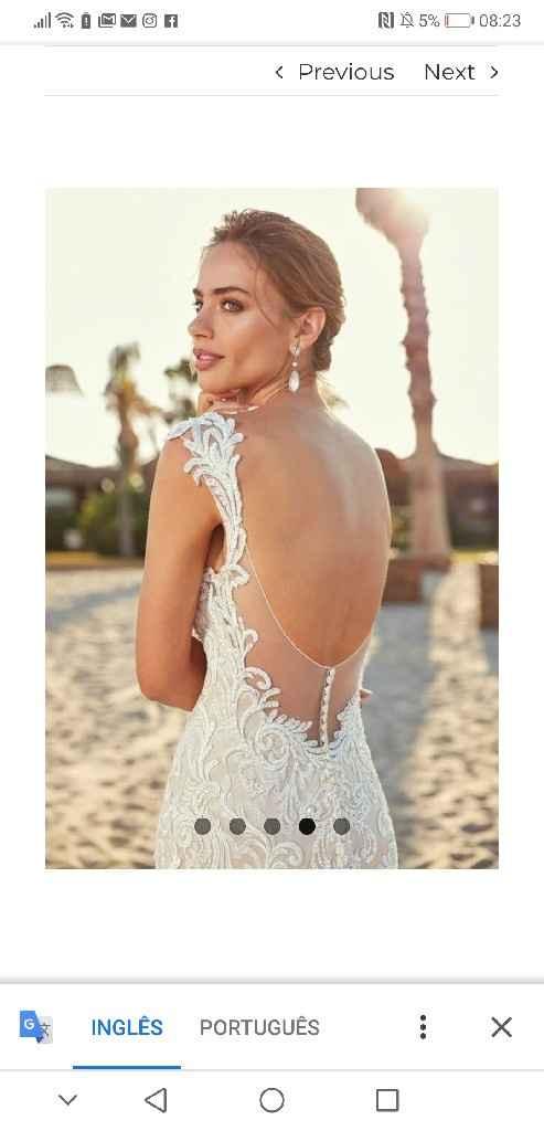 Mangas vestido de noivas - 2
