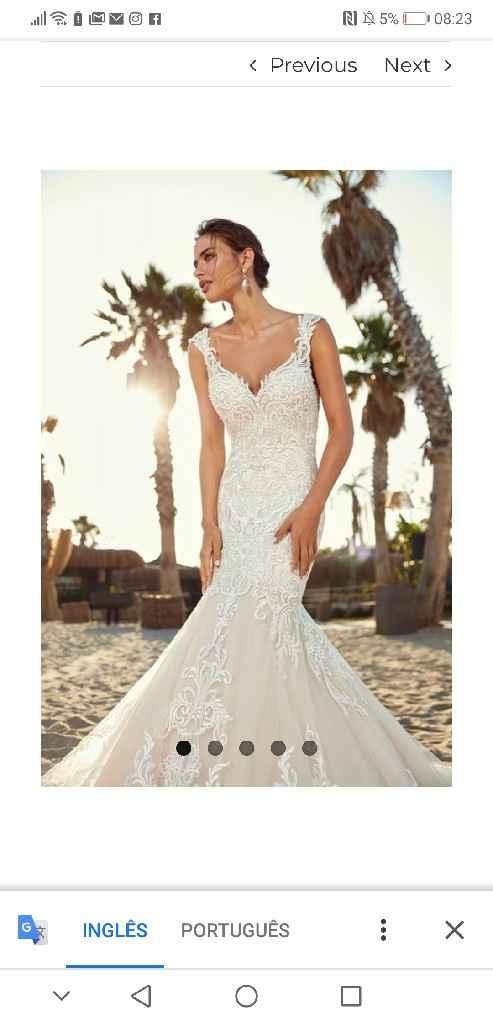 Mangas vestido de noivas - 3
