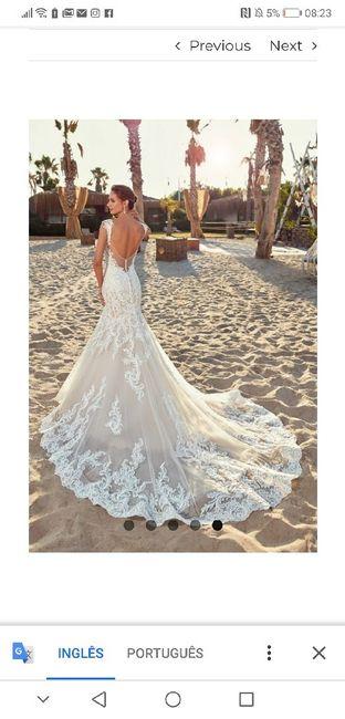 Vestido de noiva - 1