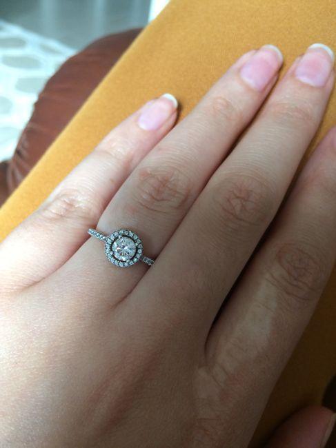 Boa noite :) Adorava ver os vossos anéis de noivado :) Quem quer partilhar? 17