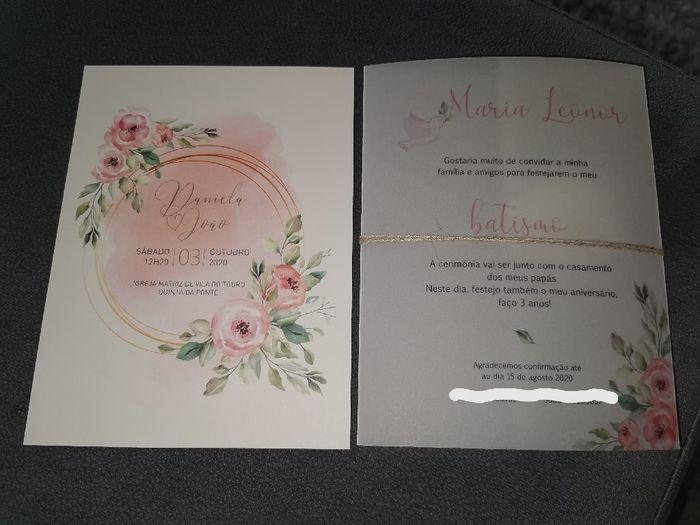 Convites 😊 check 2