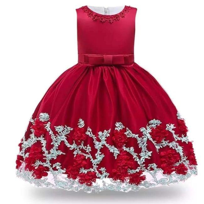 Vestidos menina alianças 7