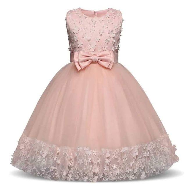 Vestidos menina alianças 8
