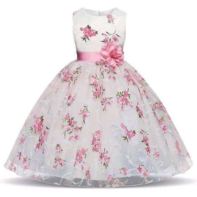 Vestidos menina alianças 9
