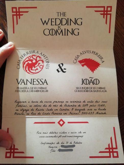 """Casamento com tema """"game of Thrones"""" 2"""