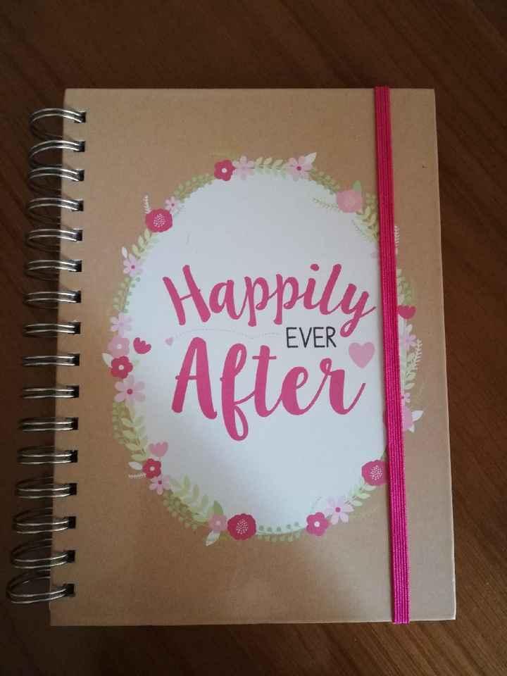 a minha agenda da noiva ♥️ - 1