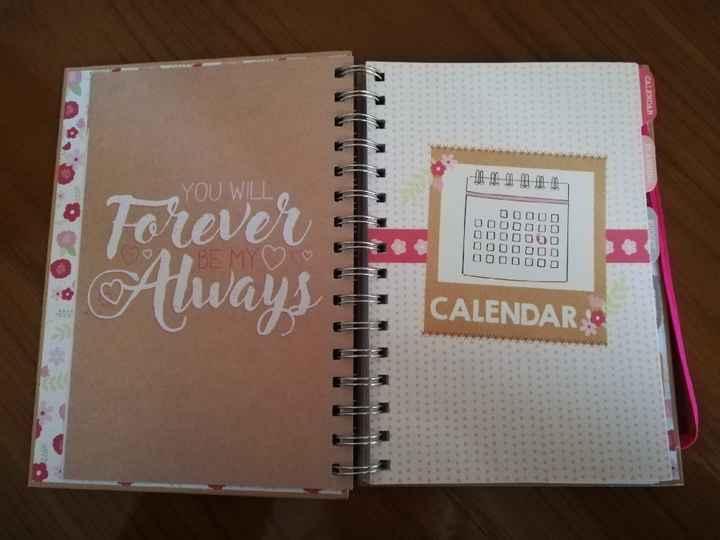 a minha agenda da noiva ♥️ - 2