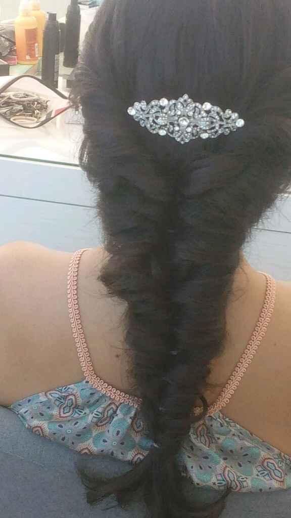 Prova cabelo e maquilhagem... - 1