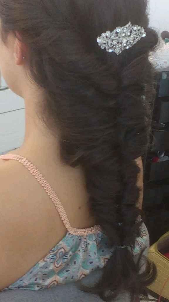 Prova cabelo e maquilhagem... - 3