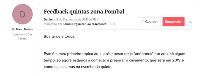 Quintas zona Pombal 1