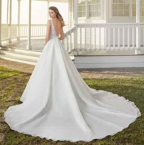 o que mais gosto num (no meu) vestido de noiva - Gabriela - 6