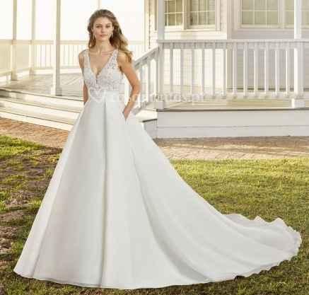 o que mais gosto num (no meu) vestido de noiva - Gabriela - 7