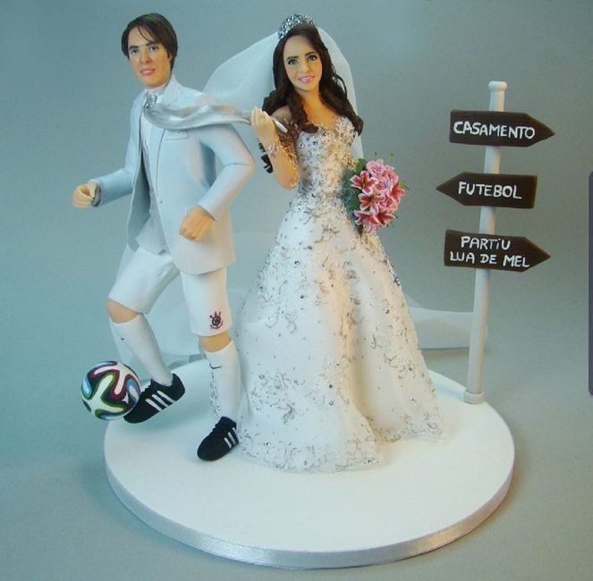 Caricaturas dos noivos no bolo: Like ou Dislike? - 3