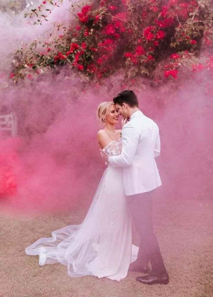 Outubro é rosa 💕 smoke bomb - 2