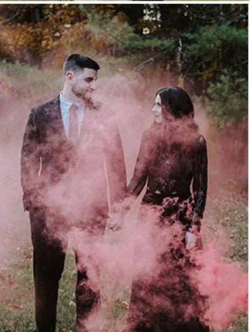 Outubro é rosa 💕 smoke bomb - 1
