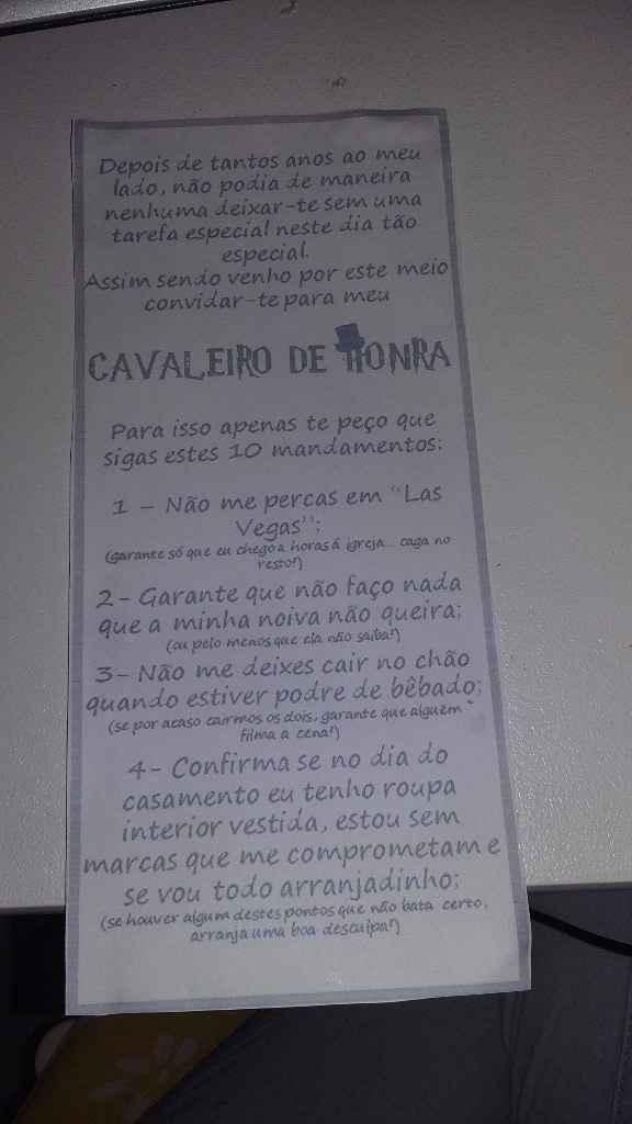 Convite dos Cavaleiros