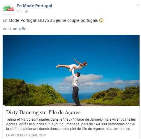Dirty dancing nos Açores